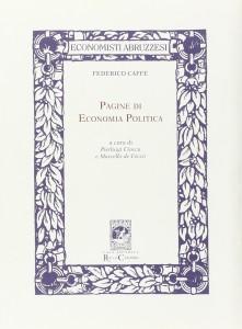 Copertina - Pagine di economia politica